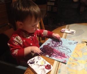 Joel painting