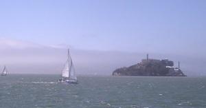 On our way to Alcatraz