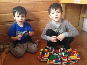 Joel and William